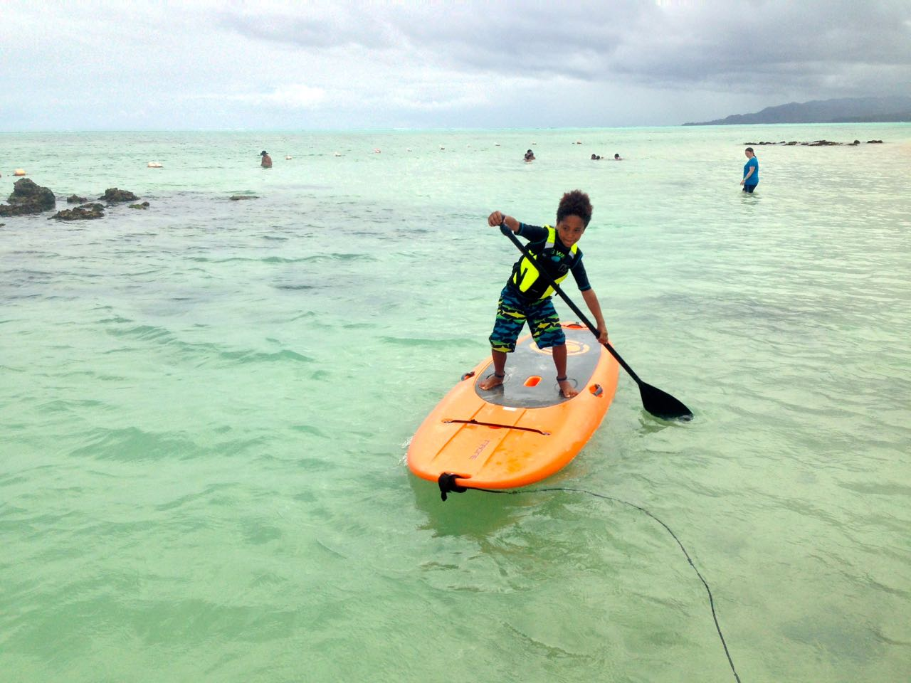 Stand Up Paddling on Pigeon Point