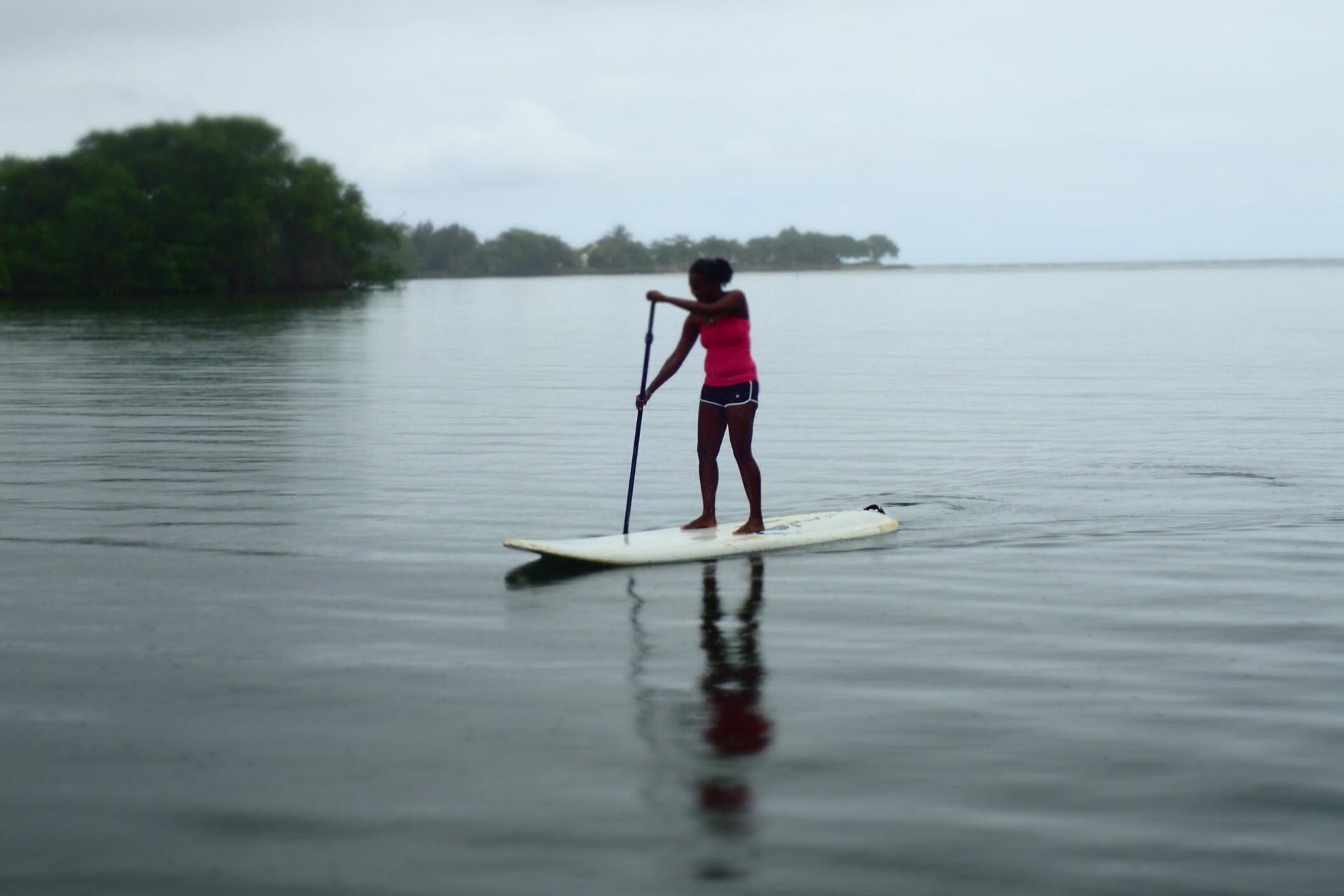 Petit Trou Lagoon , Tobago