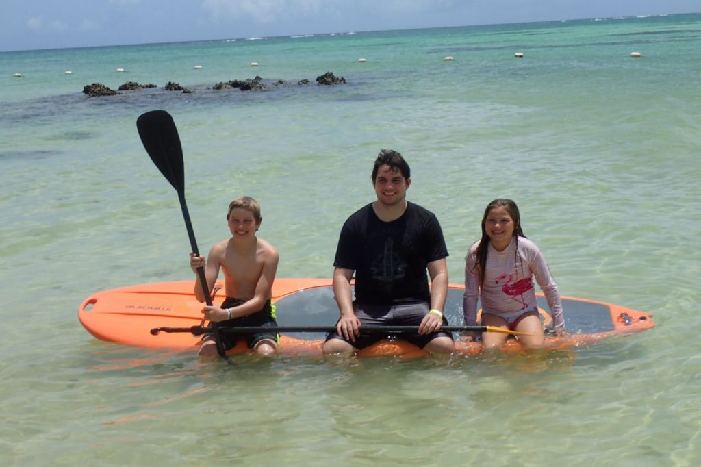 Family Stand Up Paddle
