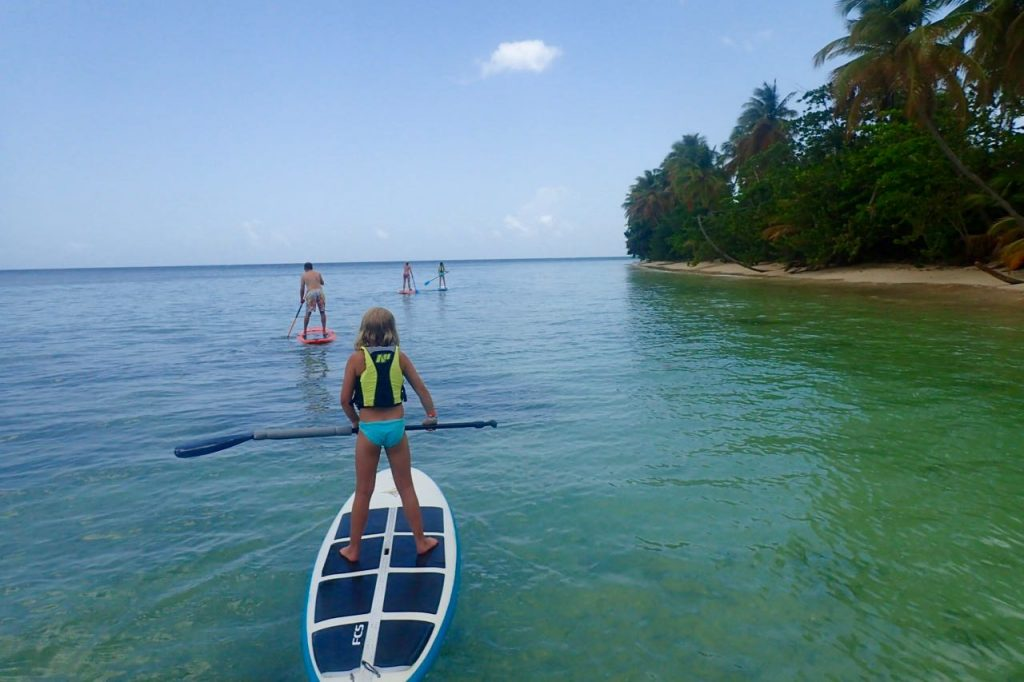 The beauty of SUP Tobago