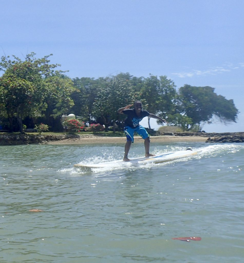 SUP Surfing Tobago
