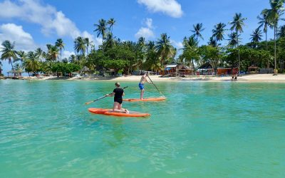 Awesome Day for Stand Up Paddle in Tobago